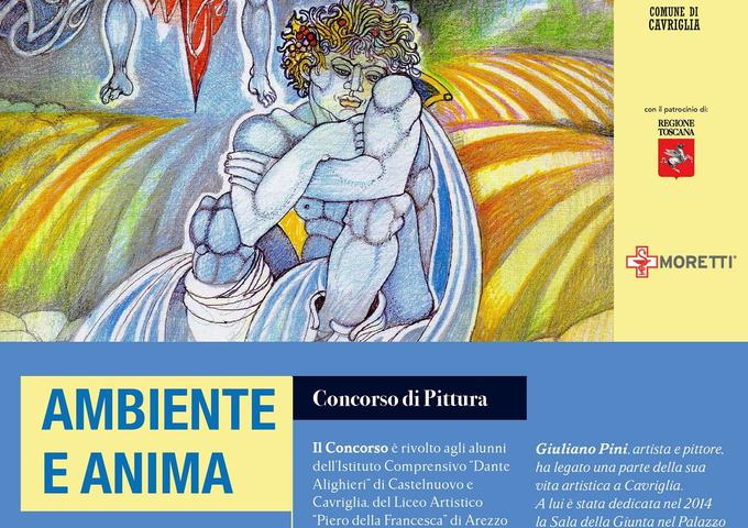 """""""Ambiente e Anima"""", atto conclusivo della  quarta edizione del premio di pittura """"Giuliano Pini"""""""
