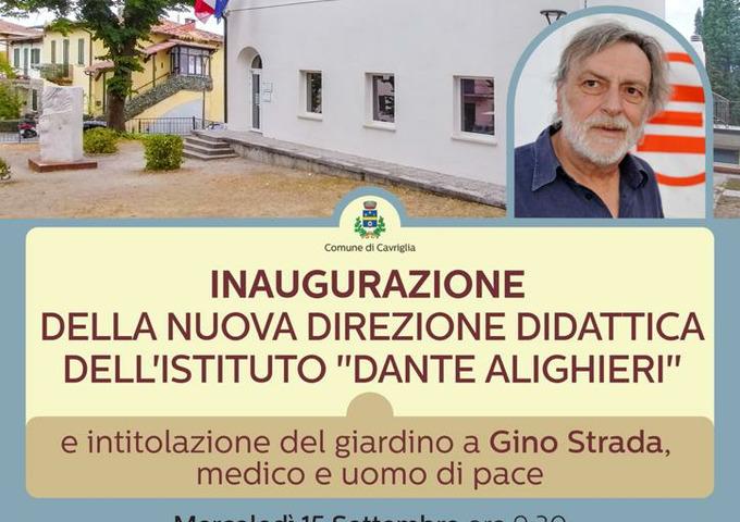 """Nuova segreteria e direzione dell'istituto """"Dante Alighieri"""" a Meleto: mercoledi' 15 settembre il taglio del nastro"""