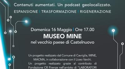 """Nuovo volto per il museo """"MINE"""", nasce la stanza della Memoria con il progetto """"Linfa"""" inaugurazione il 16 maggio"""