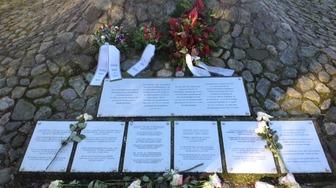 Viaggio della memoria nei luoghi dell'olocausto, cavriglia risponde presente