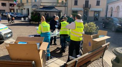 Nuova distribuzione di mascherine a  Cavriglia:  sabato 27 marzo saranno consegnati 4 dispositivi di protezione a testa