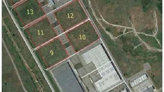 Area industriale di bomba,  sette lotti industriali urbanizzati  in vendita al prezzo di 50 euro al mq