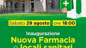 Vacchereccia, taglio del nastro per la nuova farmacia il 29 agosto