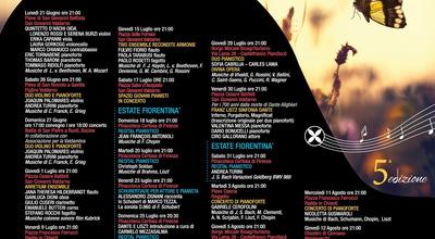 """Appuntamento venerdi' 6 agosto al teatro della """"Selva"""" con il """"Valdarno Piano Festival"""" e le musiche di Schubert, Rachmaninoff e Ravel"""