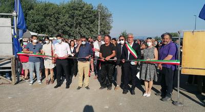 Cavriglia, il grande Parco d'Arte dedicato alle vittime del covid-19 è stato inaugurato. Nasce un museo a cielo aperto unico nel territorio