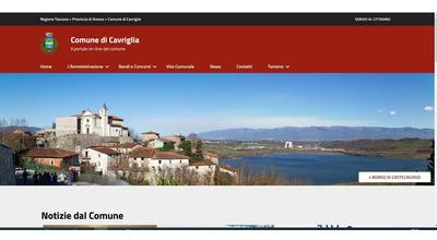 WWW.VIVICAVRIGLIA.IT,  online il nuovo portale istituzionale dell'Amministrazione Comunale di Cavriglia