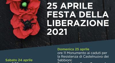 25 aprile, Cavriglia celebra la liberazione ricordando chi ha dato la vita per l'antifascismo